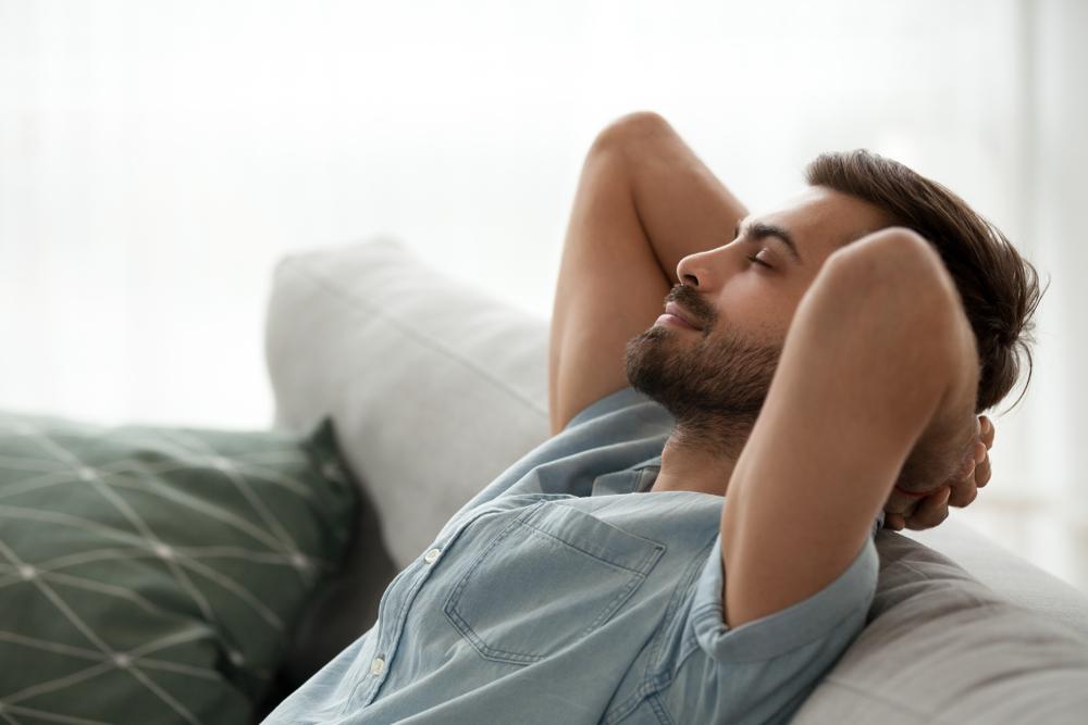 Entspannung nach der Arbeit ist wichtig